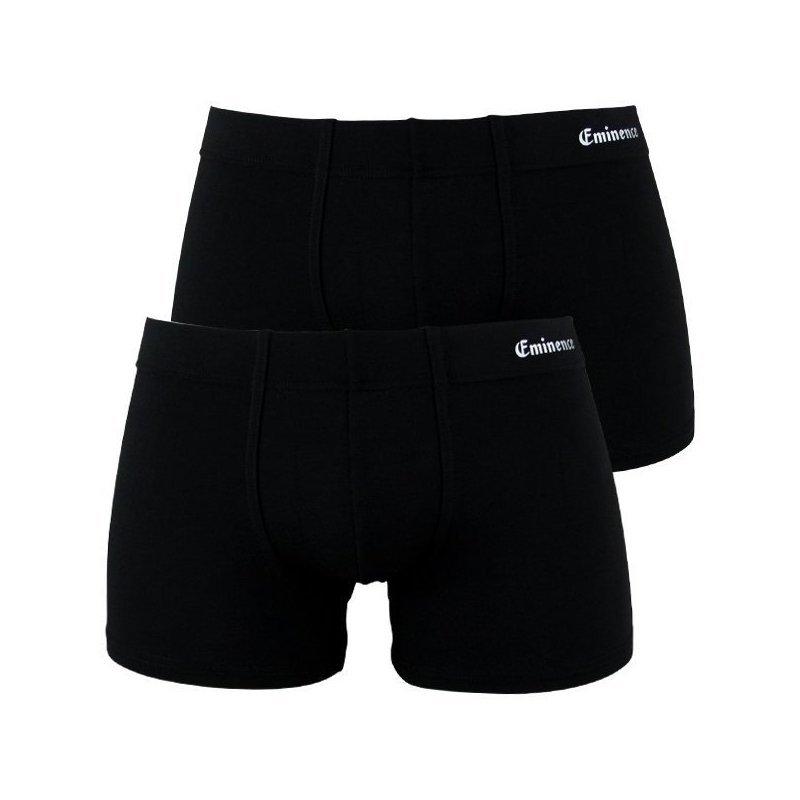 EMINENCE Lot de 2 Boxers Homme Micromodal DUO SOFT Noir