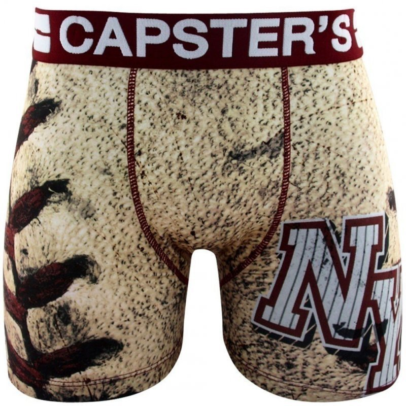 CAPSTER'S OFFICIAL Boxer Homme Microfibre NYC Beige