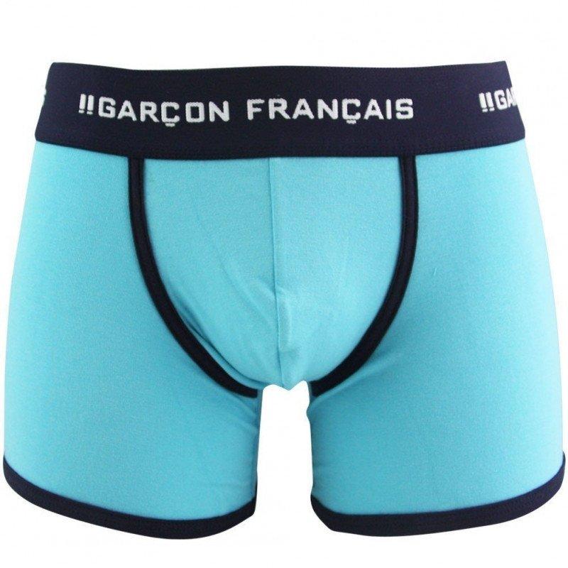 GARCON FRANCAIS Boxer Homme Coton LILLE Turquoise
