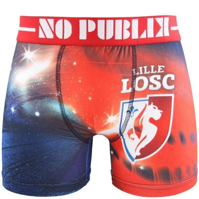 NO PUBLIK Boxer Homme Microfibre MAGIC STADIUM Rouge