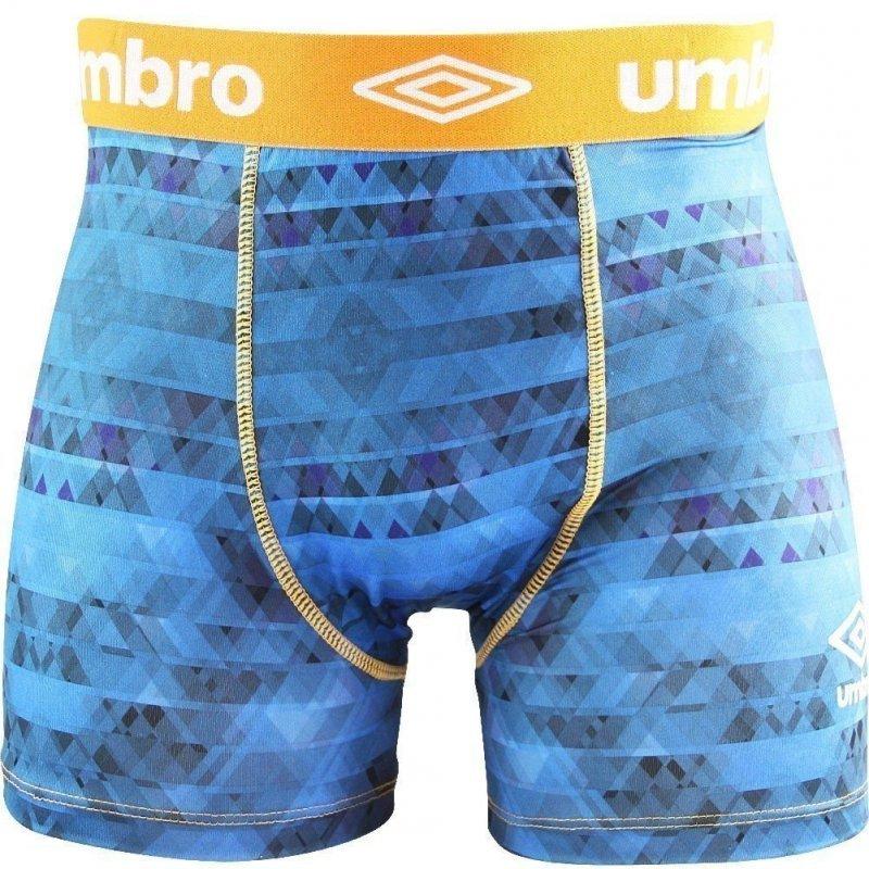 UMBRO Boxer Homme Microfibre SUB Bleu